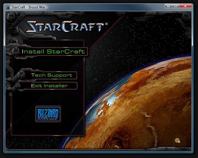 Starcraft Installer